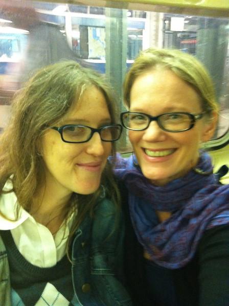 My dear niece Melissa Hibbard and my hostess when I am in Brooklyn.