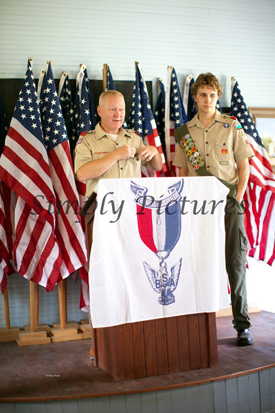 Eagle Scout Ceremony for Weston030