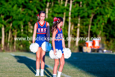 Harpeth Middle Football Cheer @ Cheatham Middle
