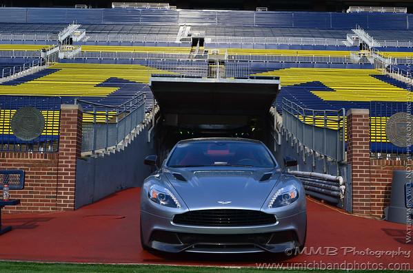 CMU - Aston Martin Halftime Video Shoot - 8/1/2013