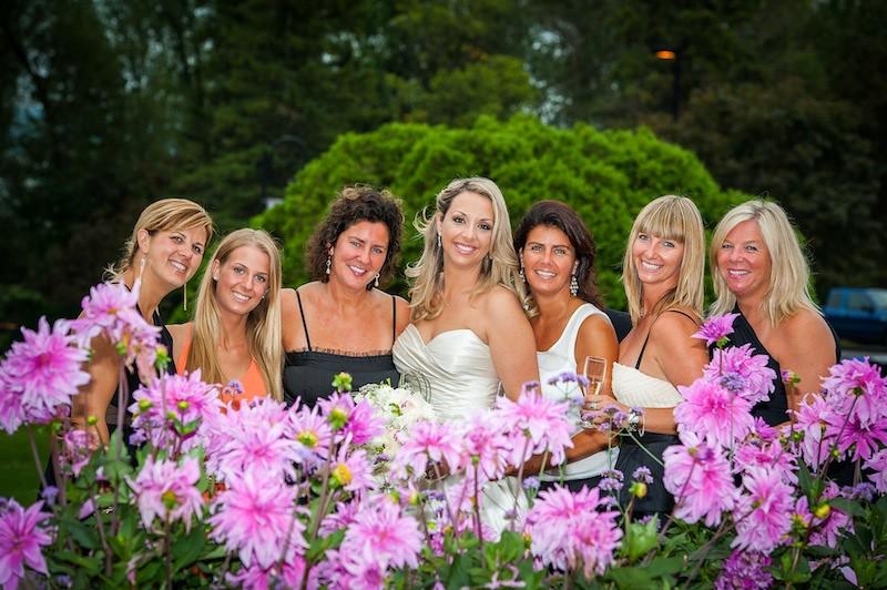 Katia Laflamme and Pierre Luc Arsenaud wedding, august 31, 2013, Quebec, Canada.