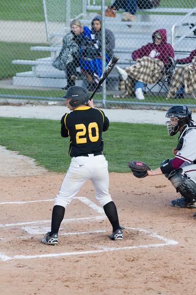 2013 Joliet West Varsity Baseball vs Lockport 04-25-13