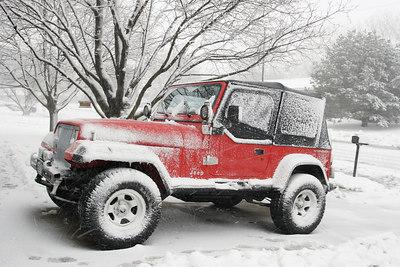 A Winter Drive.