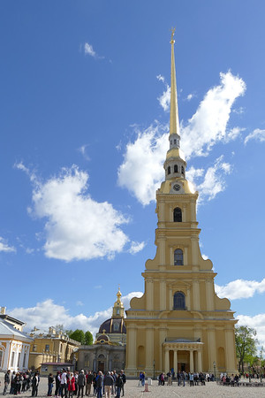Peter and Paul Fortress and Cathedral - St Petersburg