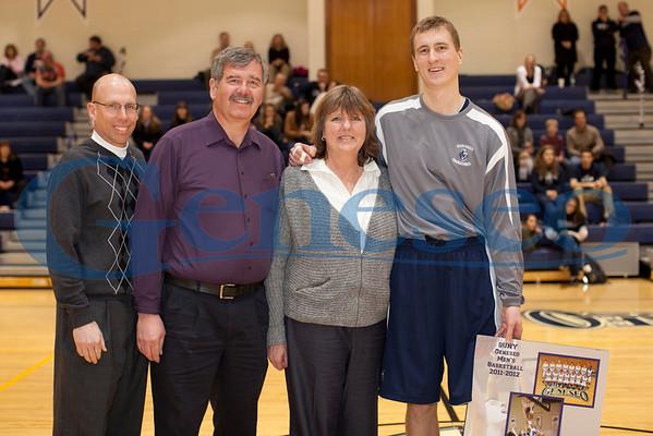 Men's Basketball - Senior Day