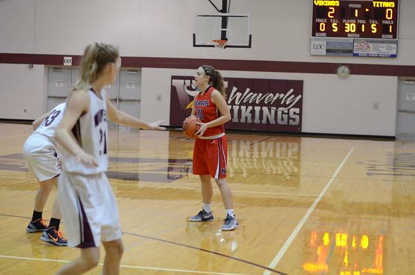 Varsity Girls Basketball at Holiday Tournament