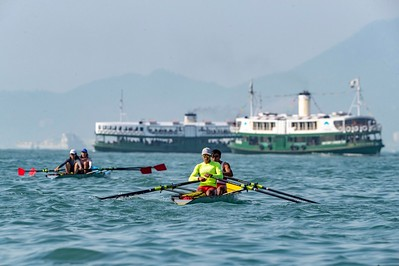 Asian Rowing Coastal Championships 2018 @ Victoria Harbour