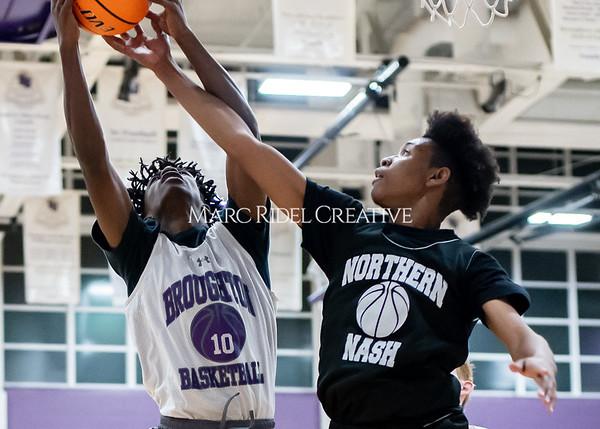 Broughton basketball vs Northern Nash. November 13, 2019. D4S_9351