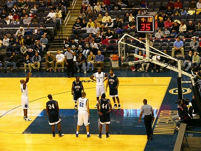 Georgetown Versus Howard Basketball