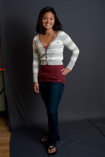 BIG LAKE, MINNESOTA — Marey Studios headshots of Elizabeth Kahn. Photo taken by Tom Sorensen, Friday August 21st, 2009.