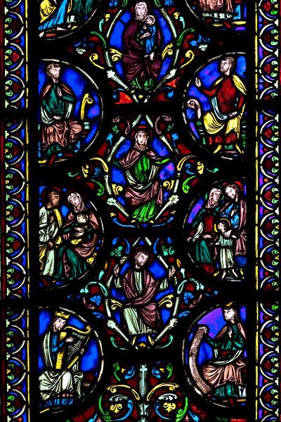 Chalons-en-Champagne , Notre Dame-en-Vaux Tree of Jesse