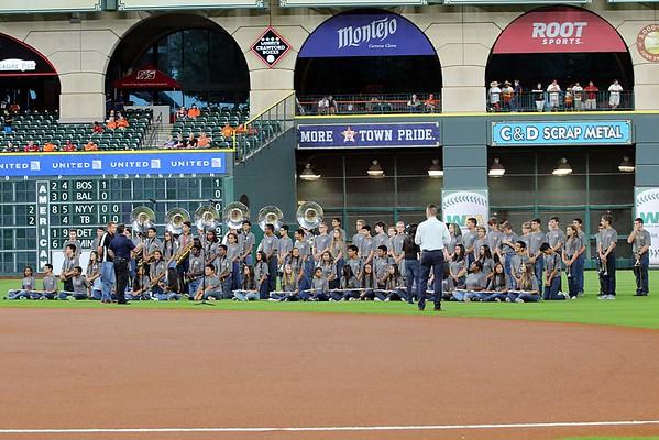 National Anthem@Houston Astros 9/22/2016
