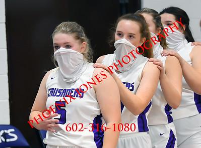 1-19-2021 - Northwest Christian vs Valley Christian - Girls Basketball