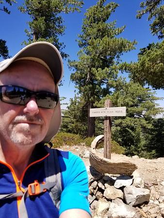 Baldy 6-Peak Loop + Kelly Camp; Aug 4 2018