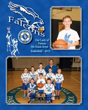 5th Boys hoops 2013