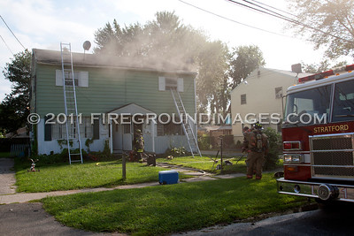 Wooster St. Fire (Stratford, CT) 8/26/11