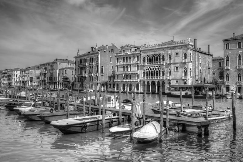 Canal Grande - Venice, Italy - April 18, 2014