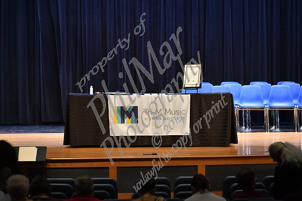 Tri-M Honor Society Induction 2019 - 2020