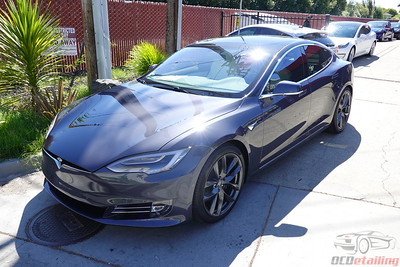 2019 Tesla Model S - Midnight Silver - Full Wrap