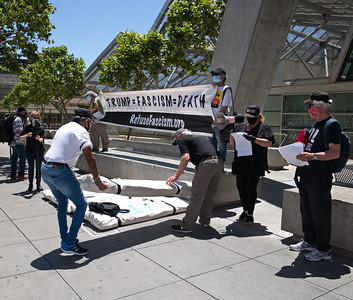 May 27 Body Bags Delivered to the Federal Building in San Francisco
