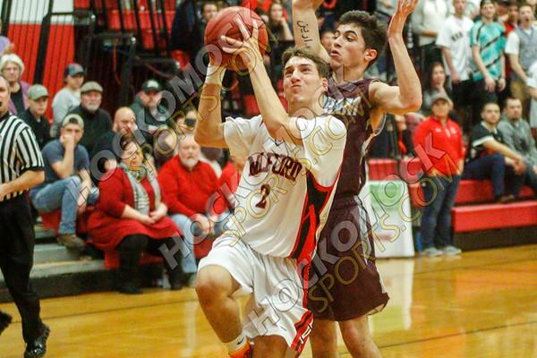 Milford-Dedham Boys Basketball - 02-21-18
