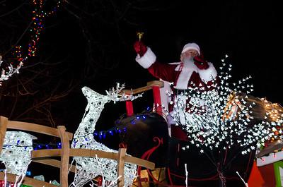 Christmas Parade - Aylmer - 2013