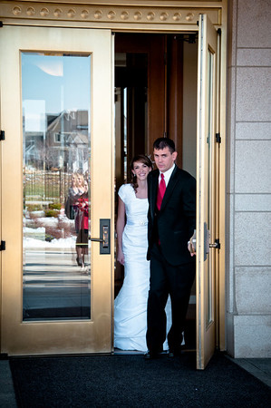 Heather & Zach at the Temple