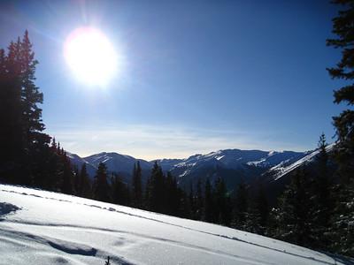 Berthoud Pass Skiing 12/28/2009