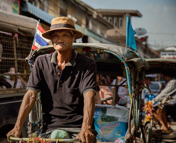 in the market of Samut Sakhon city, Samut Sakhon province, Thailan