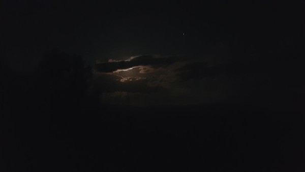 Foothills full moon 5 22 2016