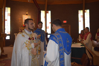 Blessing of Gregory Marifian for his trip to Armenia