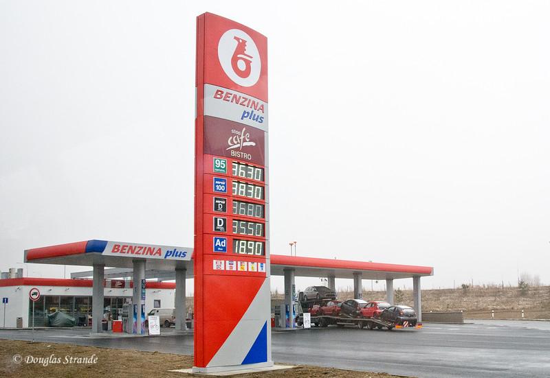 Czech gas station (do the math)