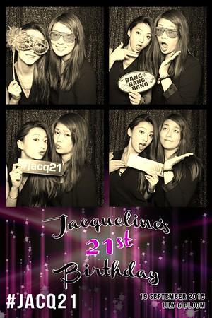 Jacqueline's 21st Birthday 19 Sep 2015