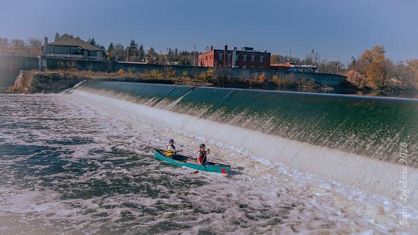 Parkhill Dam - November 8, 2020