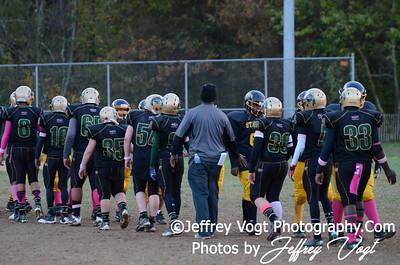 10-20-2012 Montgomery Village Sports Association Varsity Prep vs KML Steelers, Photos by Jeffrey Vogt Photography