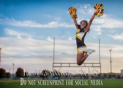 VHS Football/Cheer Photos 2016