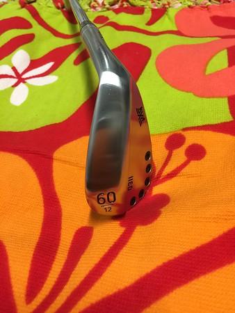 Ebay 60 deg wedge 12 deg bounce