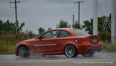 BMW 1 M Coupe-PC Wet Skid Pad-16 July 2011