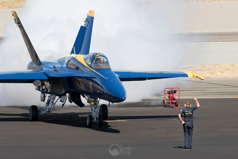 Blue Angel 6 and Ground Crew