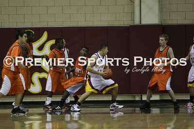 La Porte Boys Soph. Basketball vs. Deer Park 1/7/2012