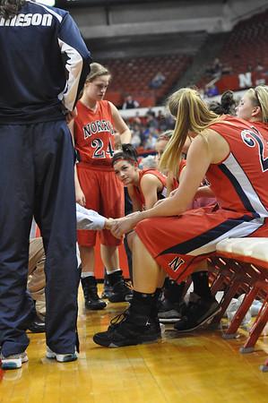 Var Girls Basketball vs Elkhorn-State-3-3-11