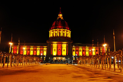 San Francisco in Red and Gold 1.18.2012