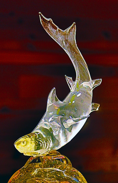 And a glass fish in the Chihuly Museum.