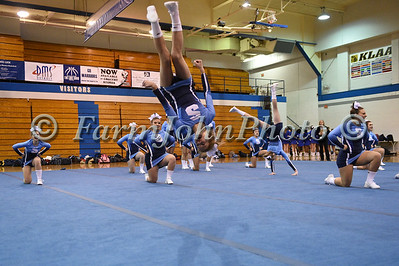 KLAA Competitive Cheerleading Cross Over - Round 3 and Closing