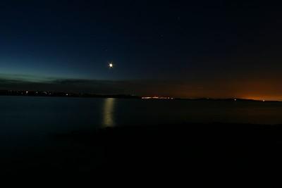 Sunrise at Folsom Lake