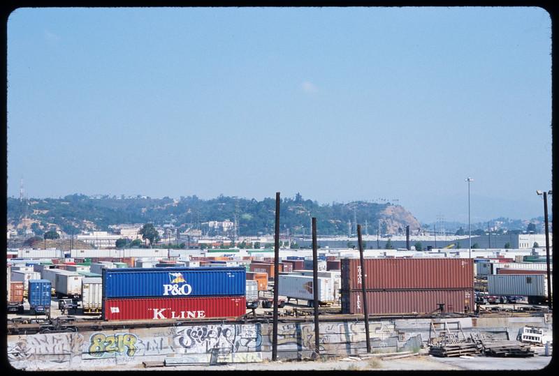 Union Pacific Los Angeles Trailer and Container Intermodal Facility (LATC), Los Angeles, 2004