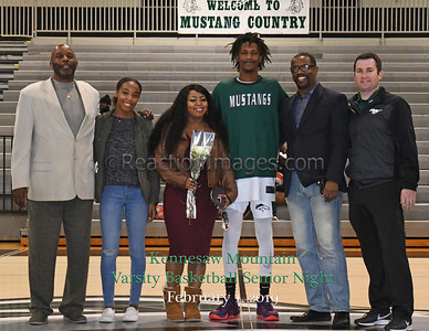 KMHS Basketball Senior Night (2-1-19)