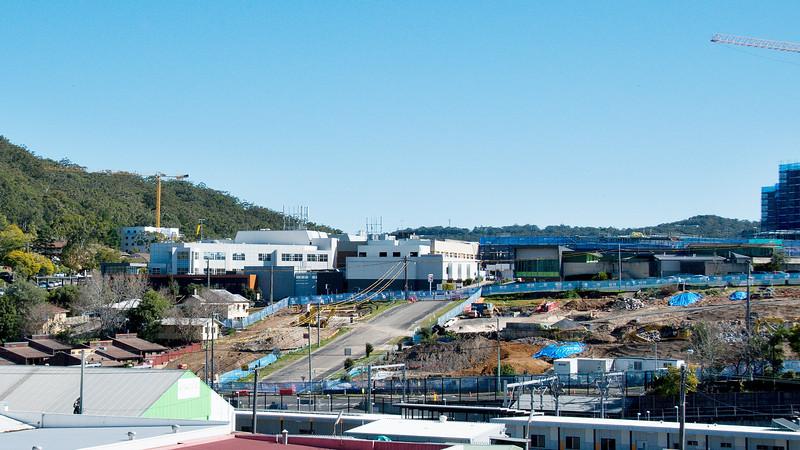 Gosford Hospital  building progress  August 6, 2017.   (h3ed)