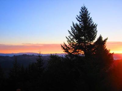 Sunrise at Cool Ridge