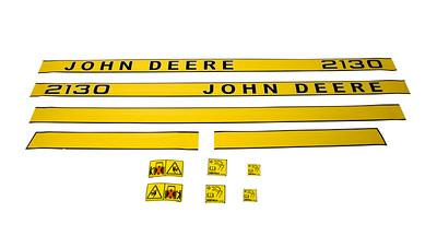 JOHN DEERE 2130 SERIES BONNET DECAL SET